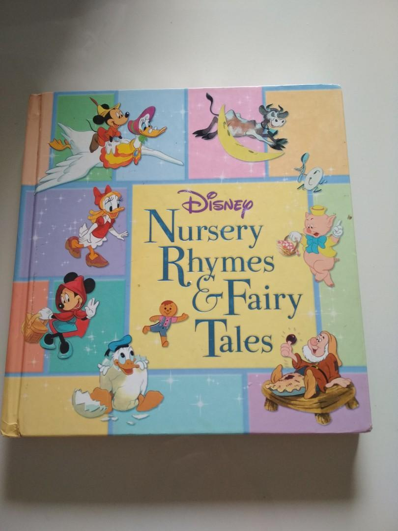 Clear Disney Nursery Rhymes And Fairy Tales Books