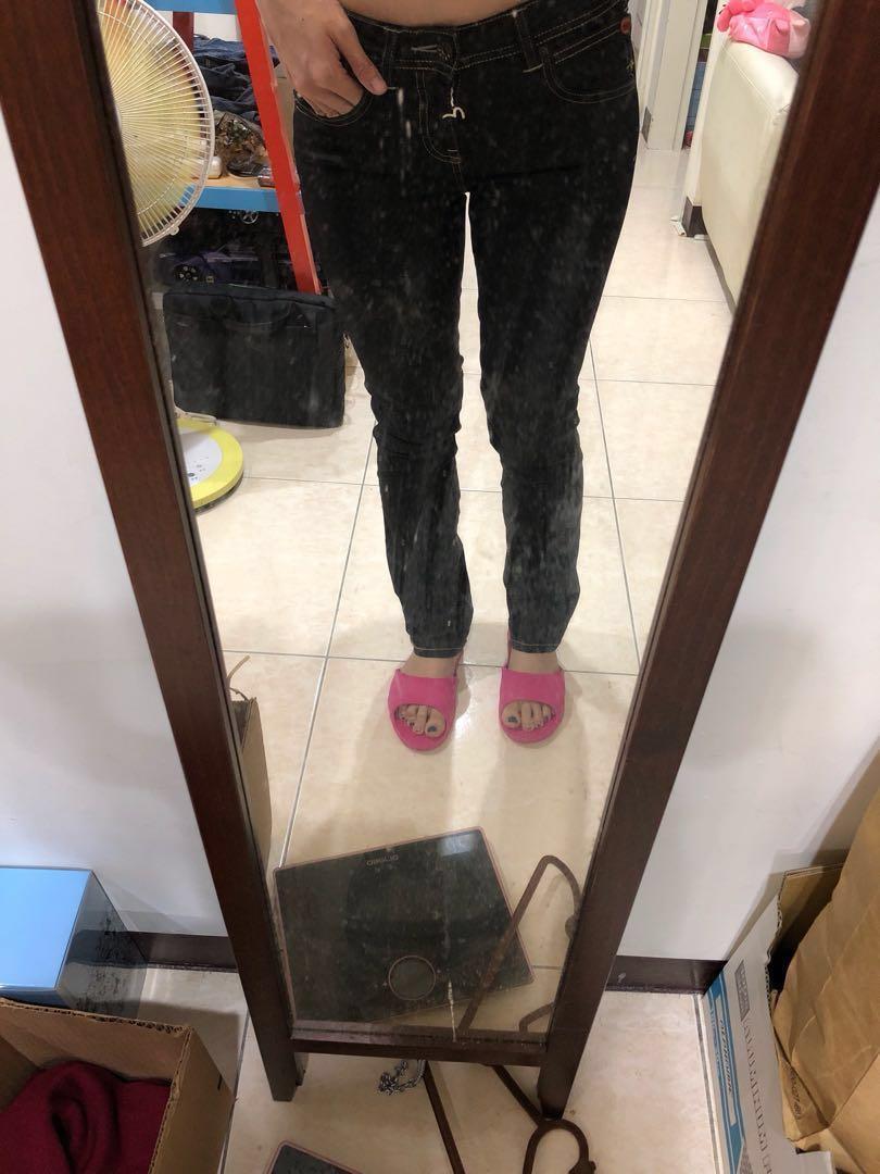 EVISU x PUMA 福神 鐵灰牛仔褲 土耳其製 #女裝半價拉