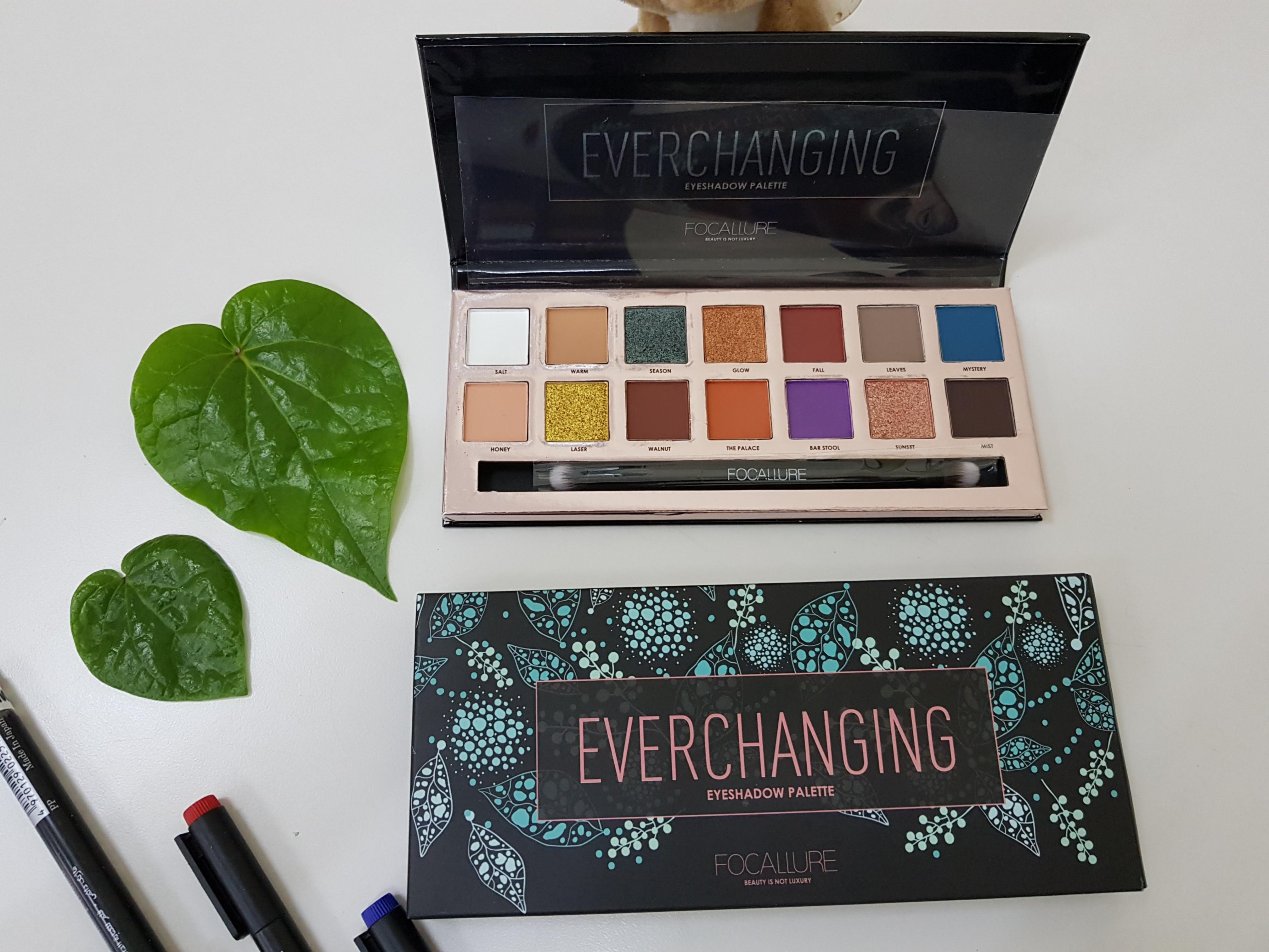 Eyeshadow foccalure edisi EVERCHANGING