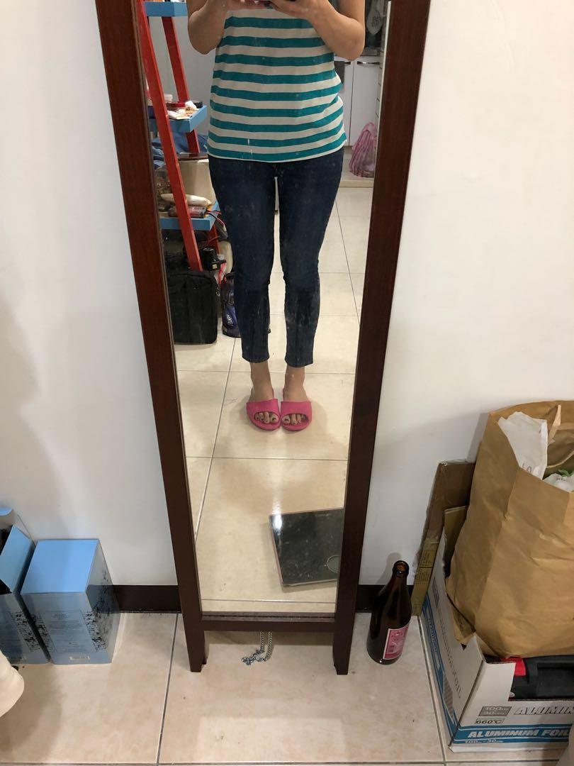 全新GAP skinny 側邊圖騰 修腿褲 窄褲 #女裝半價拉