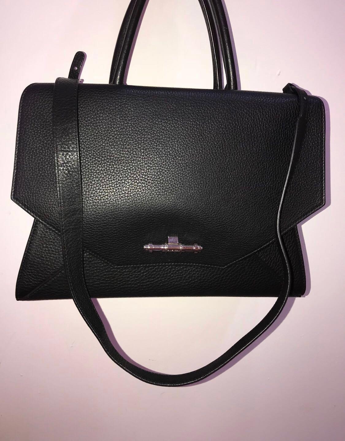 4ac8ff155b Givenchy Obsedia medium black calf