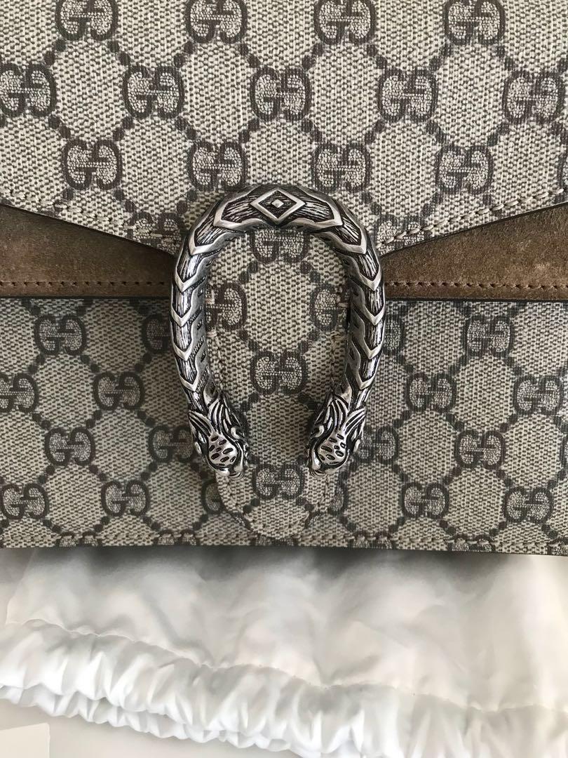 Gucci Dionysus Supreme Mini Bag