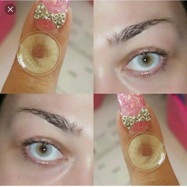 Huda beauty Wake And Bake Contact Lens Just Like Solotica