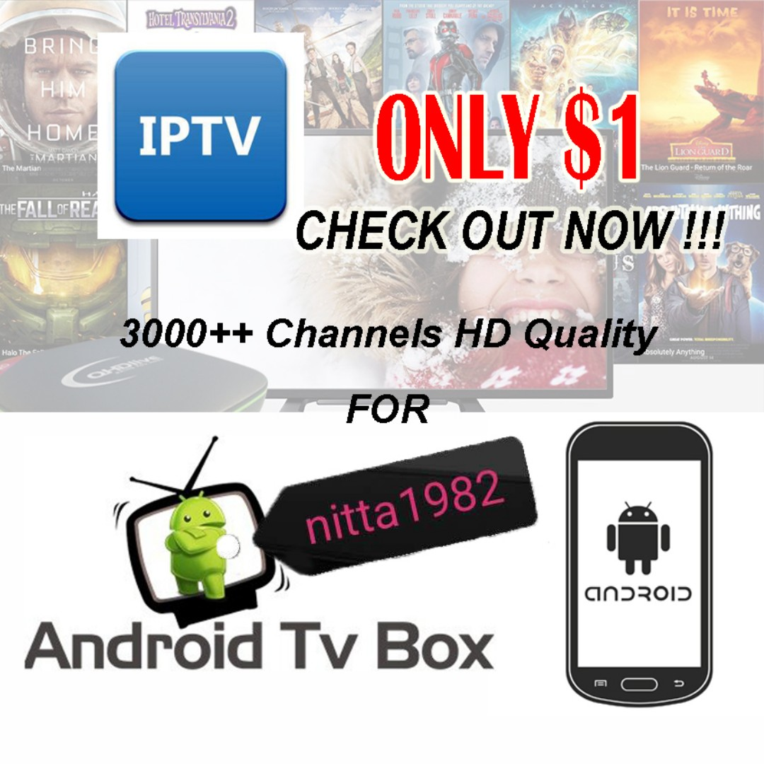 IPTV Channels Subscription for All Android TV Box