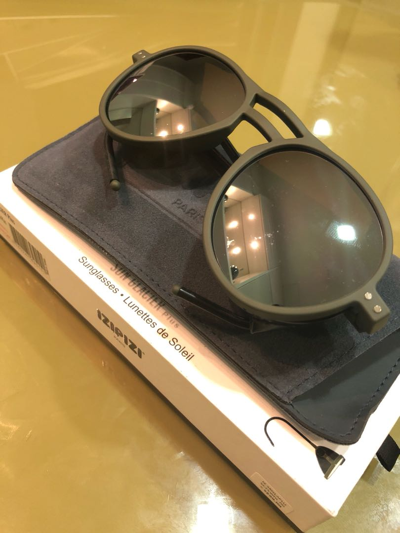 52071c554d3 Izipizi Paris Sun Glacier Plus Avaitor Polarised Sunglasses