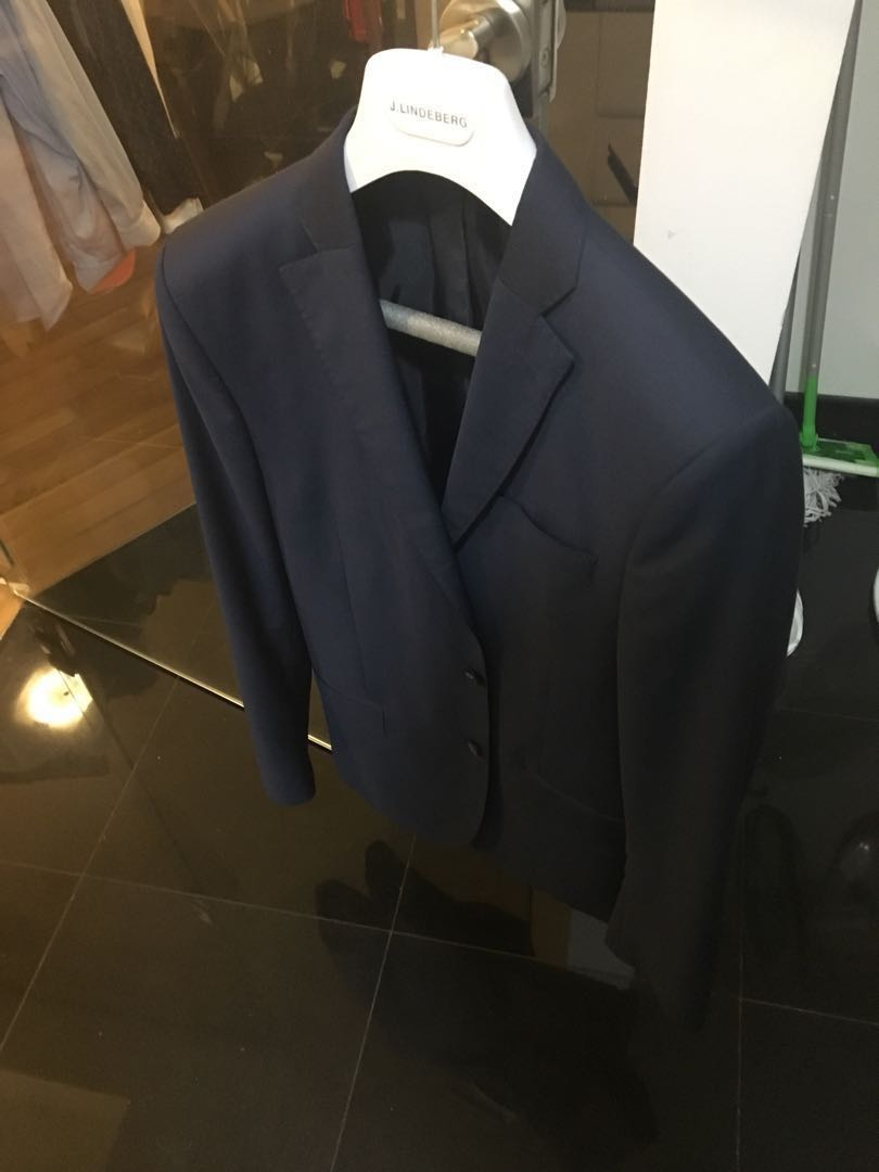 5c619be6 Jacket/blazer, J Lindeberg, size 48, navy, Men's Fashion, Clothes ...