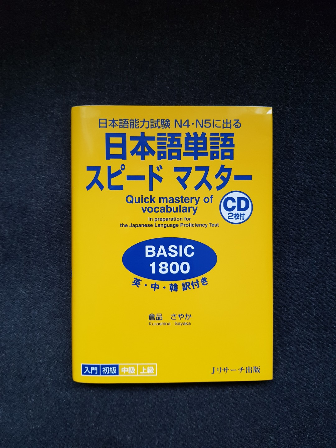 Japanese Speed Master for N4 and N5, Books & Stationery