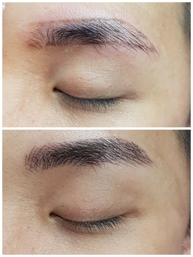 Korean 6d Misty Men Eyebrow Embroidery Lifestyle Services Beauty