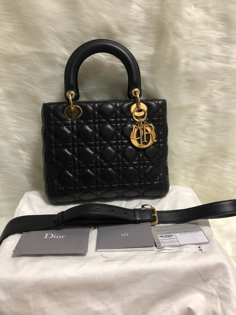 Lady Dior Medium Bag c81413f999eee