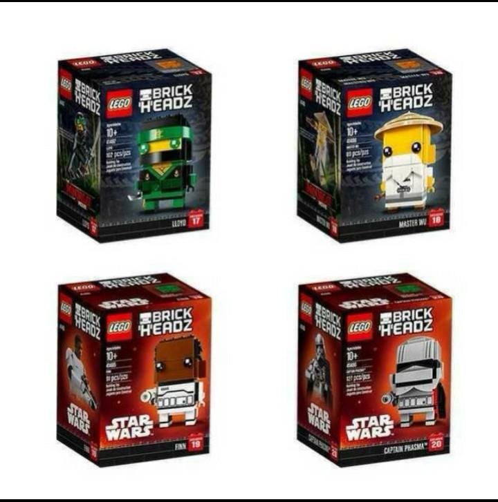 Lego Brickheadz Ninjago And Star Wars Toys Games Bricks