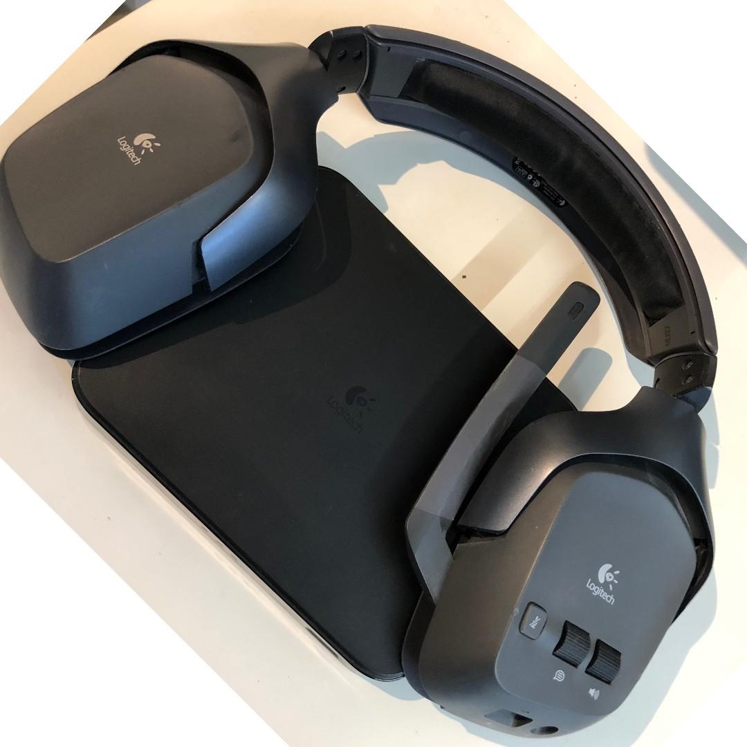 f05f2e0a22b Logitech Gaming Headphones (wireless) - No padding, Electronics ...