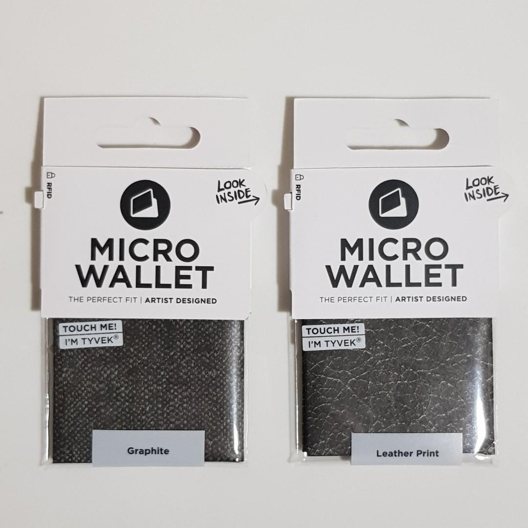 Graphite Paper Wallet Mens Micro Wallet