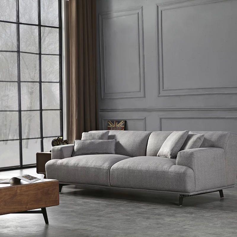 Modern 3 Seater Sofa Grey Furniture Sofas On Carousell