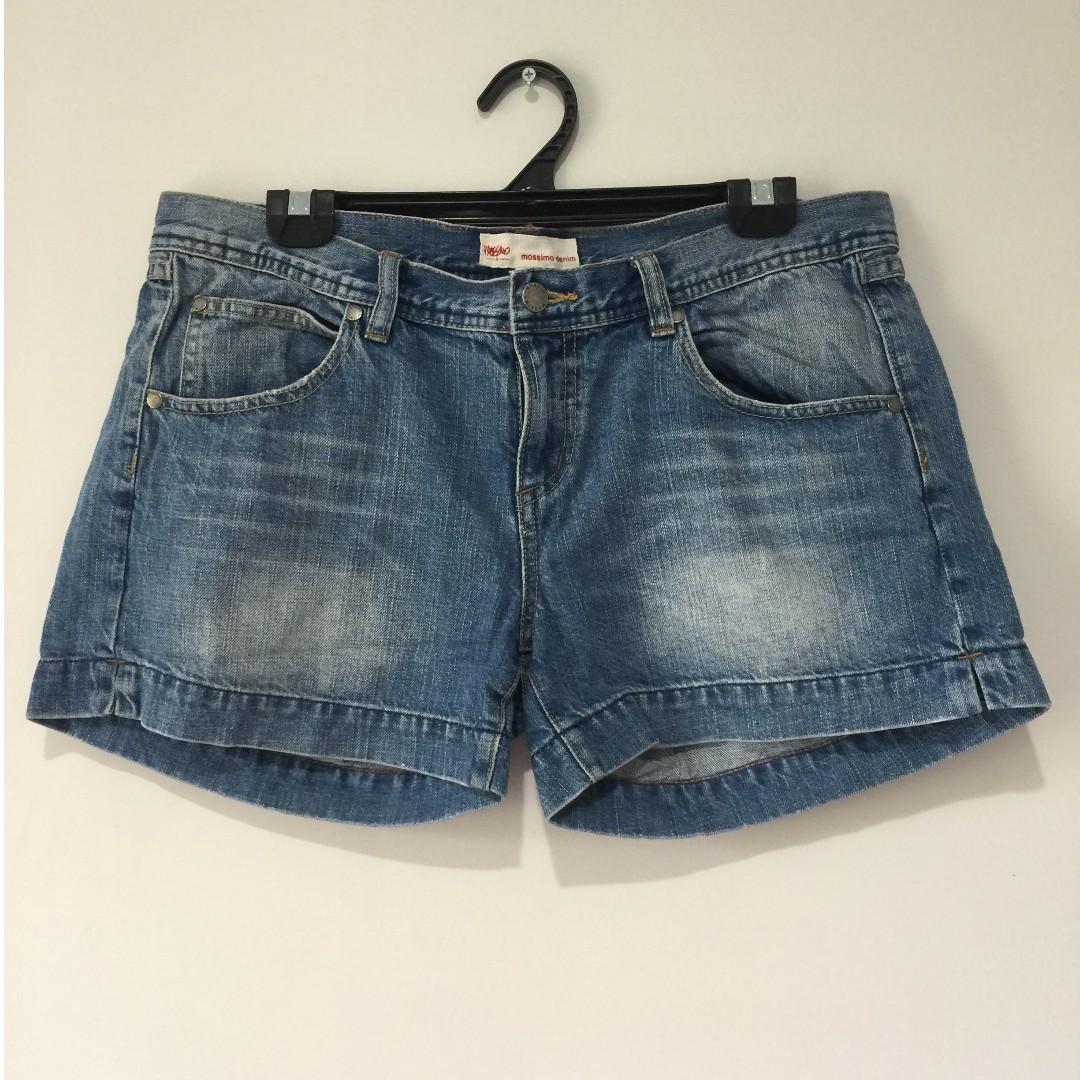 Mossimo Denim Shorts Size 14