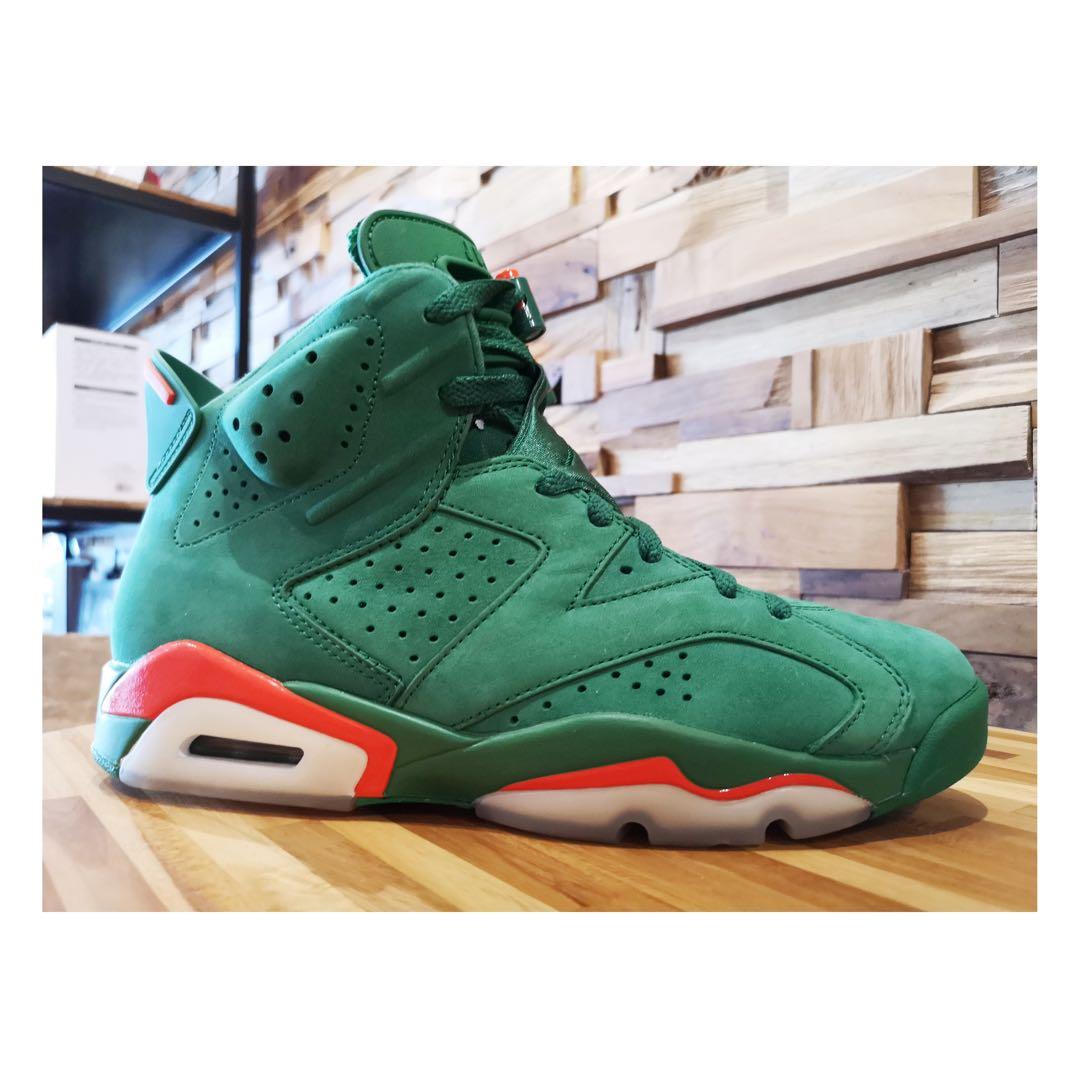 new arrival 0b28b 3a13c Nike Air Jordan 6 Gatorade Green