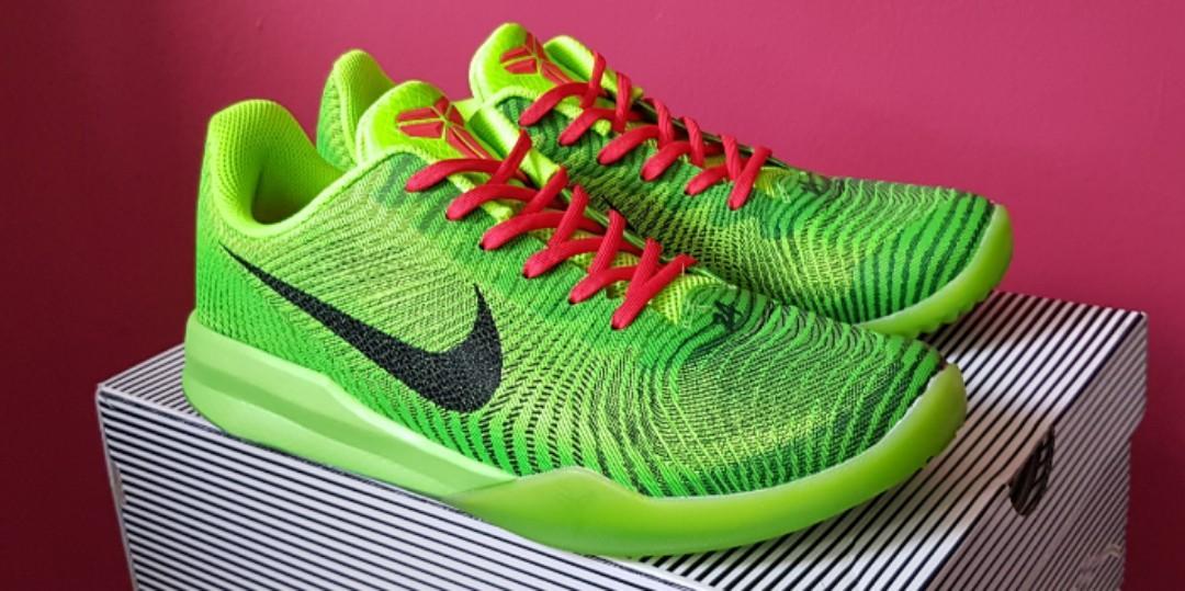 Nike Kobe KB Mentality 2 Grinch, US9.5