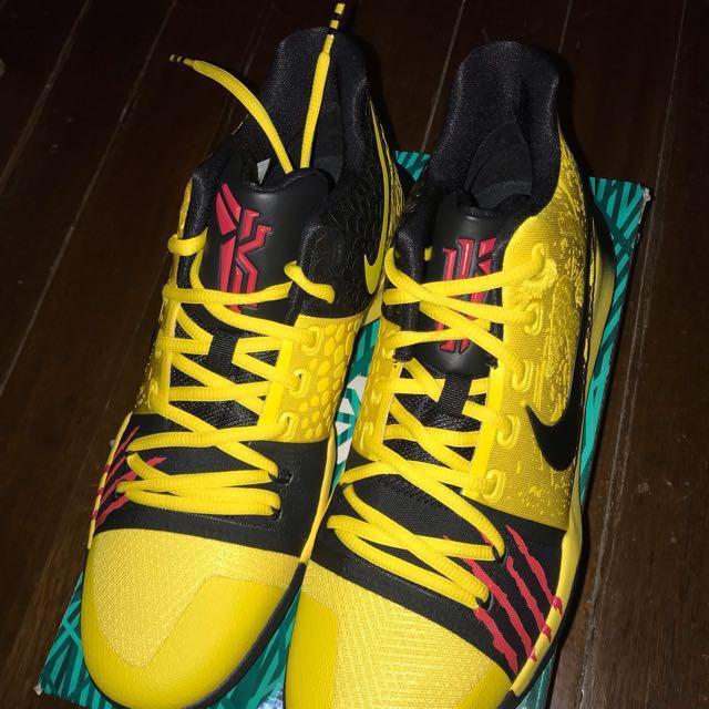 "46e3c481841 Nike Kyrie 3 Mamba Mentality ""Bruce Lee"""