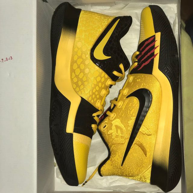 "404cfe19d70 Nike Kyrie 3 Mamba Mentality ""Bruce Lee"""
