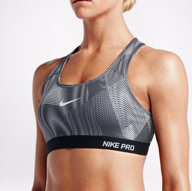 Nike Pro Classic Padded Frequency Sports Bras aa29e0bd7