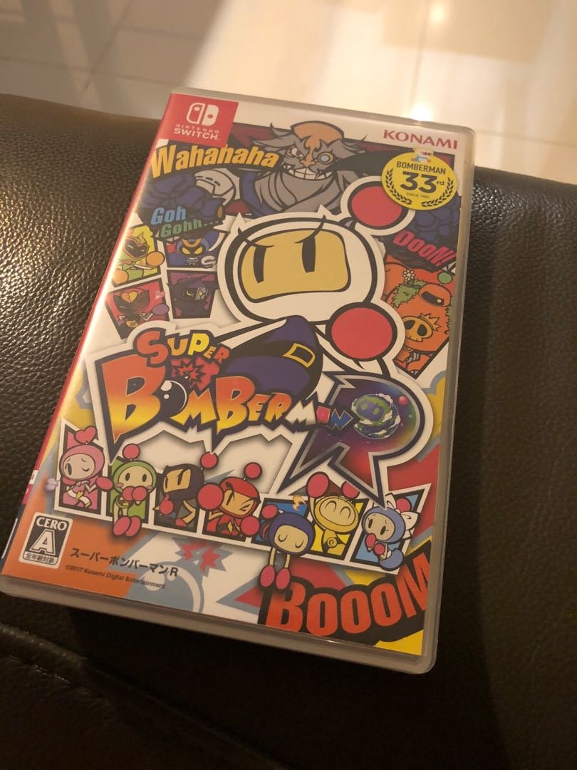 Nintendo Switch Super Bomberman Toys Games Video Gaming Switchsuper R On Carousell