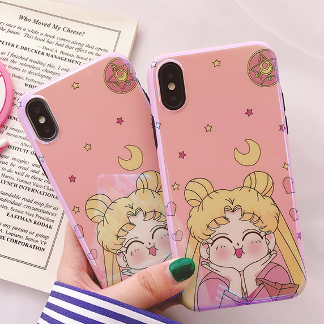 the best attitude e9ac1 18a68 [PO] glossy sailor moon iphone case