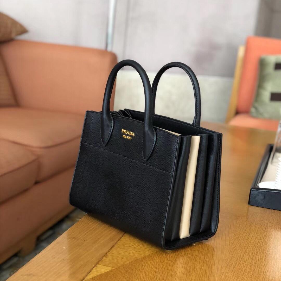 e3825988a51c Prada bibliotheque leather bag, Women's Fashion, Bags & Wallets ...