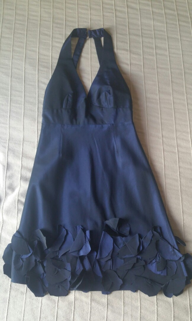7b35faf98bd Preloved ladies  midnight blue cocktail dress