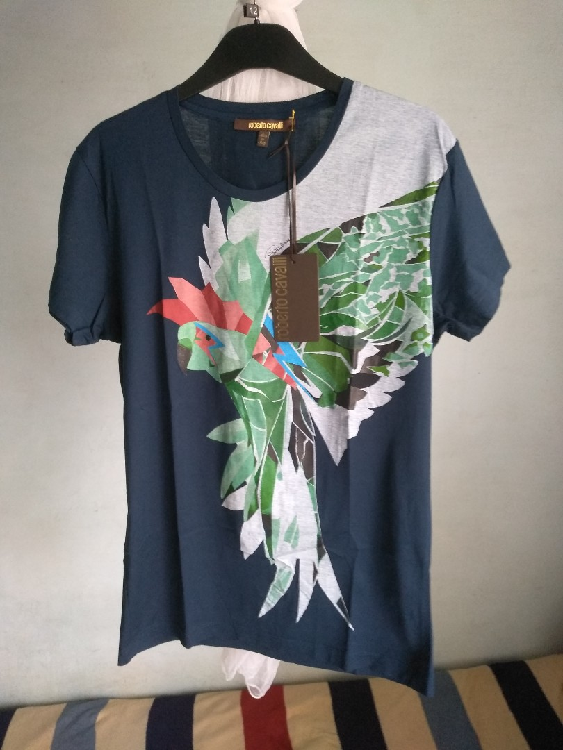 f10be49d ROBERTO CAVALLI T-SHIRT, Men's Fashion, Clothes, Tops on Carousell