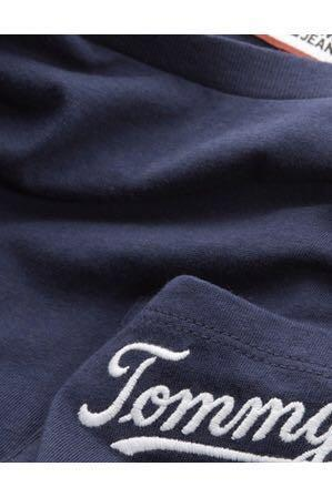 Tommy Hilfiger navy logo tee/ brand new with tags/ size small