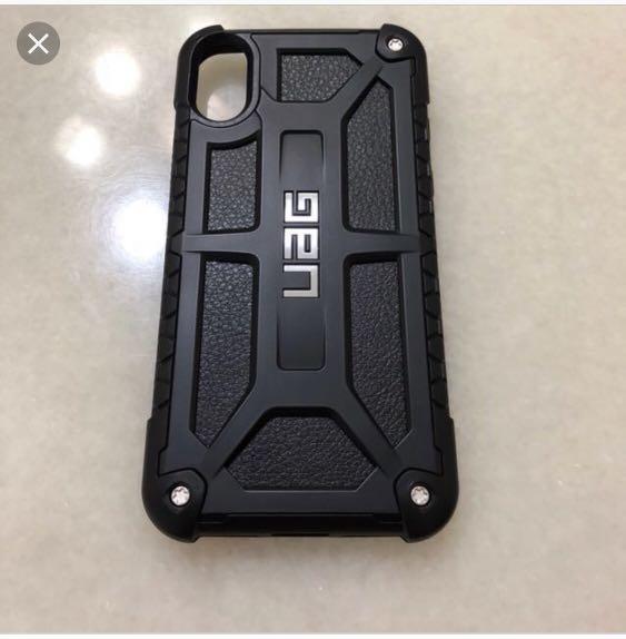 Uag monarch for iphone x  black / carbon fibre