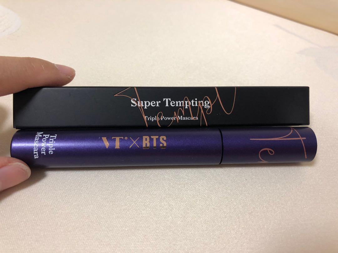 VT x BTS cosmetics Super Tempting and Glorious Gloria range