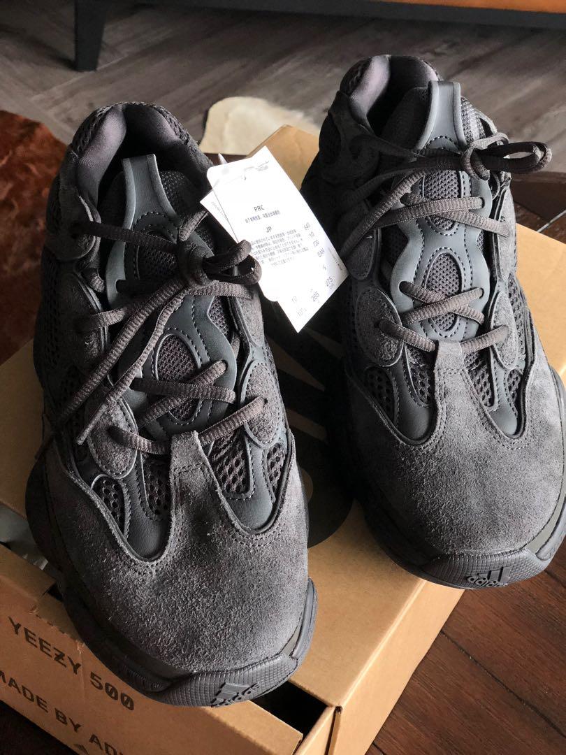43aee34ba Yeezy 500 Utility Black