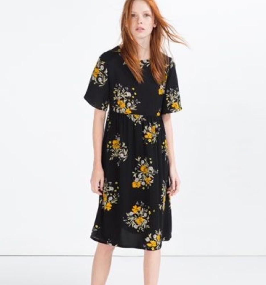 896cb8b3e6fb Zara Dress Flowers 2018 - Flowers Healthy