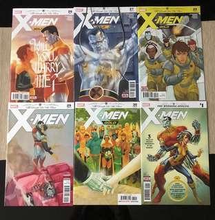 Marvel Comics X Men Gold: Til Death Do Us Apart (Complete)