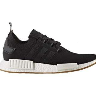 Adidas NMD R1 Primeknit Black Gum $180