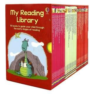 Usborne - My Second Reading Library (consists of 50 Books)