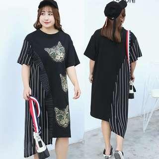 Plus Size Dress - 3XL