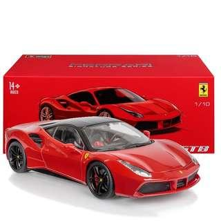 Bburago Signature Series Ferrari 488 GTB - Red 1:18