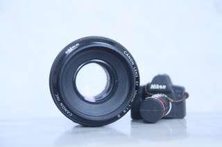 Canon EF 50mm 1.8