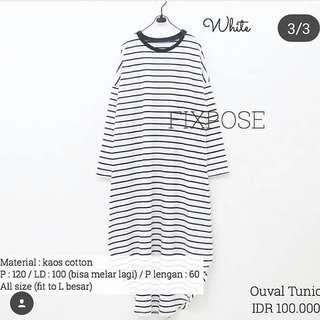 OUVAL TUNIK FIXPOSE PRELOVED