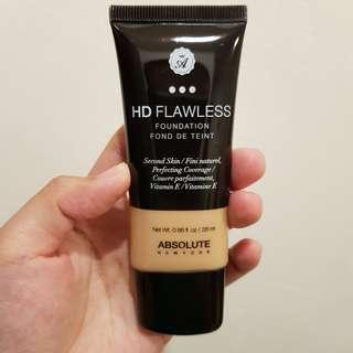 Absolute New York HD flawless foundation
