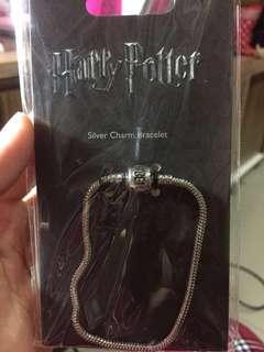 harry potter silver bracelet