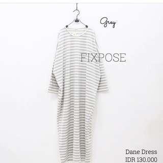 DANE DRESS GREY BY FIXPOSE