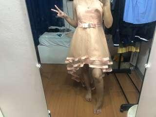 Princess Flowy Pink Dress
