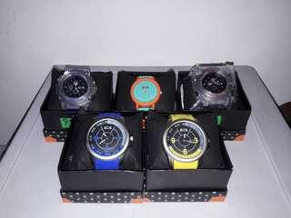 branded silicone watches