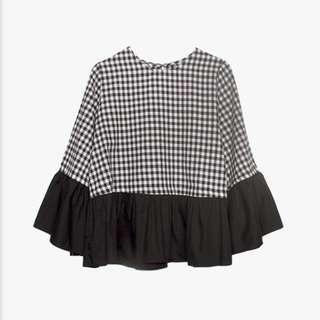 Black blouse COTTONINK