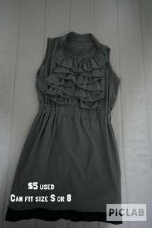 Grey dress for sale