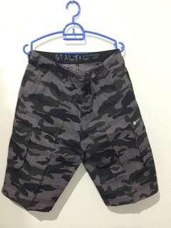 Short Pants Man Dark Army