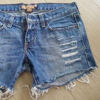BN Ambercombie & Fitch denim shorts