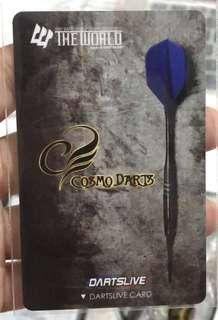 Cosmo Limited Edition Dartslive Card